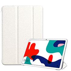 Funda de Cuero Cartera con Soporte Carcasa para Huawei MatePad 5G 10.4 Blanco
