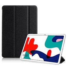 Funda de Cuero Cartera con Soporte Carcasa para Huawei MatePad Negro