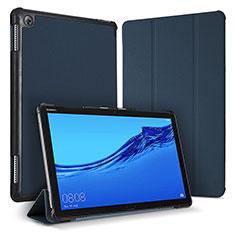 Funda de Cuero Cartera con Soporte Carcasa para Huawei MediaPad M5 Lite 10.1 Azul