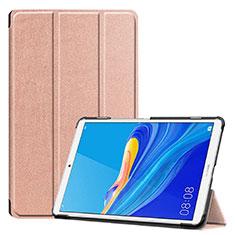 Funda de Cuero Cartera con Soporte Carcasa para Huawei MediaPad M6 8.4 Oro Rosa