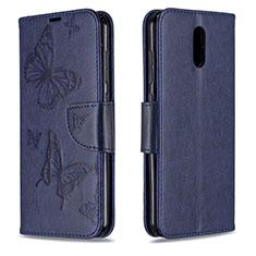 Funda de Cuero Cartera con Soporte Carcasa para Nokia 2.3 Azul