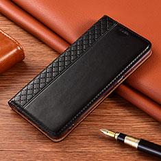 Funda de Cuero Cartera con Soporte Carcasa para Nokia 2.4 Negro