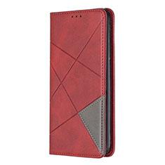 Funda de Cuero Cartera con Soporte Carcasa para Nokia 5.3 Rojo