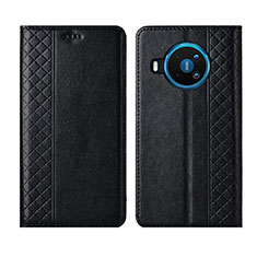 Funda de Cuero Cartera con Soporte Carcasa para Nokia 8.3 5G Negro