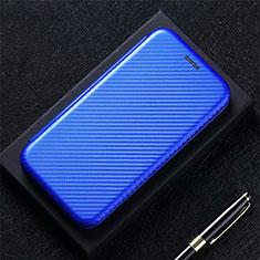 Funda de Cuero Cartera con Soporte Carcasa para Oppo A73 (2020) Azul