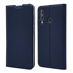 Funda de Cuero Cartera con Soporte Carcasa para Samsung Galaxy A60 Azul