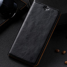 Funda de Cuero Cartera con Soporte Carcasa para Samsung Galaxy A81 Negro