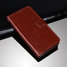 Funda de Cuero Cartera con Soporte Carcasa para Sony Xperia 10 Plus Marron