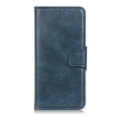 Funda de Cuero Cartera con Soporte Carcasa para Sony Xperia 5 Azul