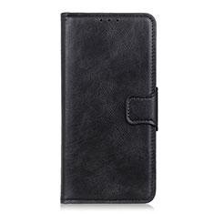 Funda de Cuero Cartera con Soporte Carcasa para Sony Xperia 5 Negro
