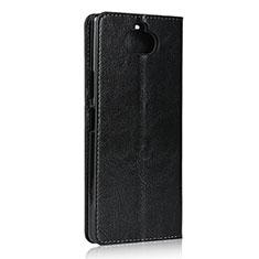 Funda de Cuero Cartera con Soporte Carcasa para Sony Xperia 8 Lite Negro