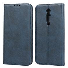 Funda de Cuero Cartera con Soporte Carcasa para Xiaomi Mi 9T Azul