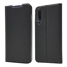 Funda de Cuero Cartera con Soporte Carcasa para Xiaomi Mi A3 Lite Negro