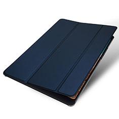 Funda de Cuero Cartera con Soporte Carcasa para Xiaomi Mi Pad 4 Plus 10.1 Azul