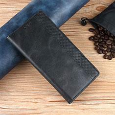 Funda de Cuero Cartera con Soporte Carcasa para Xiaomi Poco X3 NFC Negro