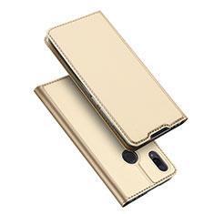 Funda de Cuero Cartera con Soporte Carcasa para Xiaomi Redmi Note 7 Pro Oro