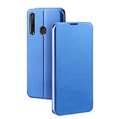 Funda de Cuero Cartera con Soporte Carcasa T01 para Huawei Honor 20 Lite Azul