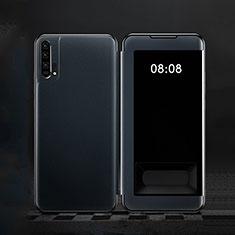 Funda de Cuero Cartera con Soporte Carcasa T01 para Huawei Honor 20 Pro Azul
