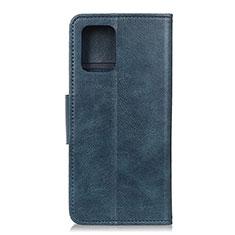 Funda de Cuero Cartera con Soporte Carcasa T03 para Samsung Galaxy S20 5G Azul