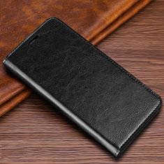 Funda de Cuero Cartera con Soporte Carcasa T04 para Samsung Galaxy S20 Ultra 5G Negro