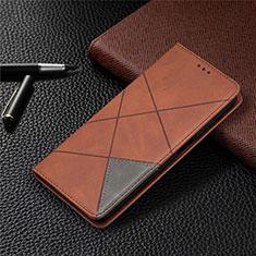 Funda de Cuero Cartera con Soporte Carcasa T04 para Xiaomi Mi 10T Lite 5G Marron