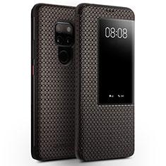 Funda de Cuero Cartera con Soporte Carcasa T05 para Huawei Mate 20 Marron