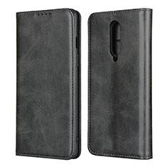 Funda de Cuero Cartera con Soporte Carcasa T06 para OnePlus 8 Negro
