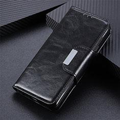 Funda de Cuero Cartera con Soporte Carcasa T07 para Huawei Honor X10 Max 5G Negro