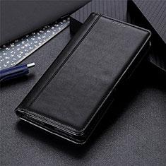 Funda de Cuero Cartera con Soporte Carcasa T09 para Xiaomi Poco M3 Negro