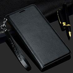 Funda de Cuero Cartera con Soporte Carcasa T11 para Samsung Galaxy Note 20 Ultra 5G Negro