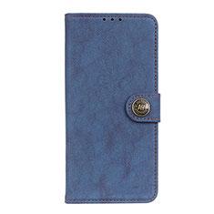 Funda de Cuero Cartera con Soporte Carcasa T17 para Samsung Galaxy Note 20 5G Azul
