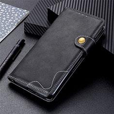 Funda de Cuero Cartera con Soporte Carcasa T18 para Samsung Galaxy Note 20 5G Negro