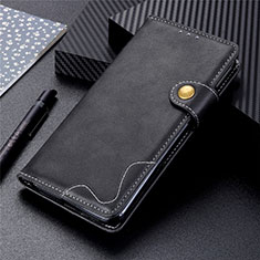 Funda de Cuero Cartera con Soporte Carcasa T18 para Samsung Galaxy Note 20 Ultra 5G Negro