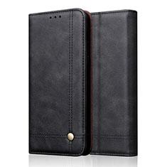 Funda de Cuero Cartera con Soporte Carcasa T19 para Apple iPhone 11 Pro Negro