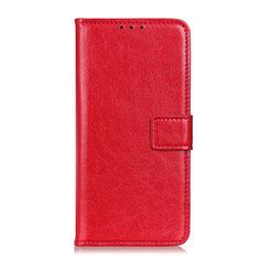 Funda de Cuero Cartera con Soporte Carcasa T22 para Samsung Galaxy Note 20 5G Rojo
