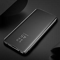Funda de Cuero Cartera con Soporte Espejo Carcasa M03 para Samsung Galaxy S20 Ultra 5G Negro