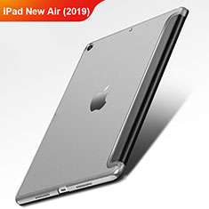 Funda de Cuero Cartera con Soporte L01 para Apple iPad New Air (2019) 10.5 Negro