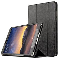 Funda de Cuero Cartera con Soporte L01 para Xiaomi Mi Pad 3 Negro
