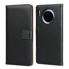 Funda de Cuero Cartera con Soporte L02 para Huawei Mate 30 Pro 5G Negro