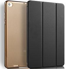 Funda de Cuero Cartera con Soporte L02 para Xiaomi Mi Pad 3 Negro