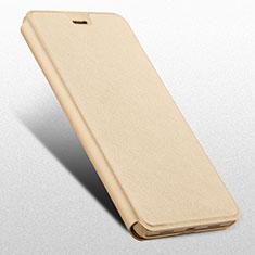 Funda de Cuero Cartera con Soporte L03 para Huawei Mate 9 Lite Oro
