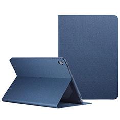 Funda de Cuero Cartera con Soporte L04 para Apple iPad Pro 9.7 Azul