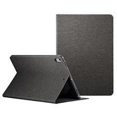 Funda de Cuero Cartera con Soporte L06 para Apple iPad Pro 10.5 Negro