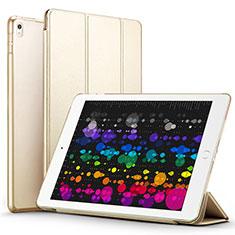 Funda de Cuero Cartera con Soporte para Apple iPad Pro 10.5 Oro