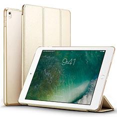 Funda de Cuero Cartera con Soporte para Apple iPad Pro 12.9 (2017) Oro