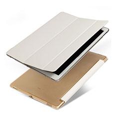 Funda de Cuero Cartera con Soporte para Apple iPad Pro 12.9 Blanco