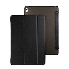 Funda de Cuero Cartera con Soporte para Apple iPad Pro 9.7 Negro