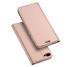 Funda de Cuero Cartera con Soporte para Asus Zenfone 4 Max ZC554KL Oro Rosa