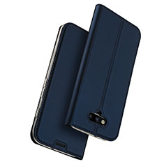 Funda de Cuero Cartera con Soporte para Huawei Honor Magic Azul