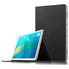 Funda de Cuero Cartera con Soporte para Huawei MatePad 10.8 Negro